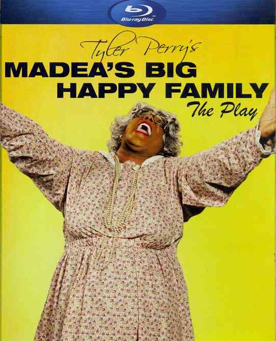 MADEA'S BIG HAPPY FAMILY (PLAY) BY PERRY,TYLER (Blu-Ray)
